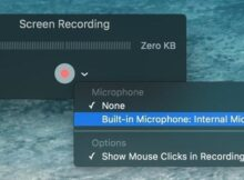 Best Free and Paid Screen recorders for Mac OS X