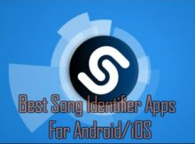 Song Identifier App's For Android & iOS