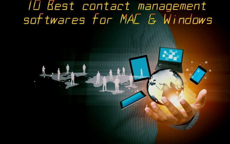 Best Contact Management Softwares for Mac and Windows