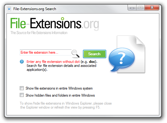 www.file-extensions.org