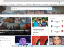 New Tab Page Background in Microsoft Edge