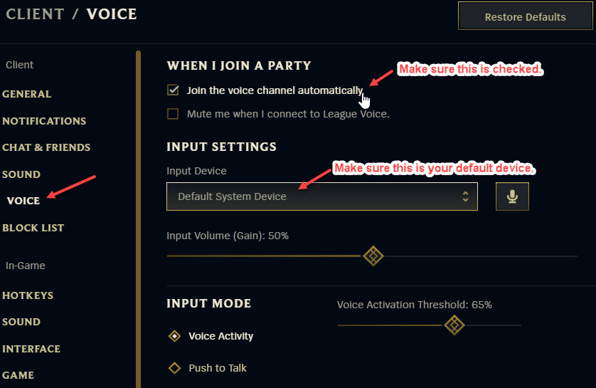 League Voice Not Working! How To Fix This?